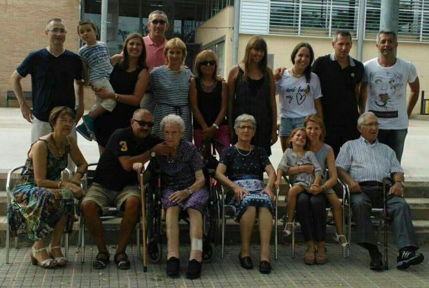 Pura y la gran familia, todos reunidos