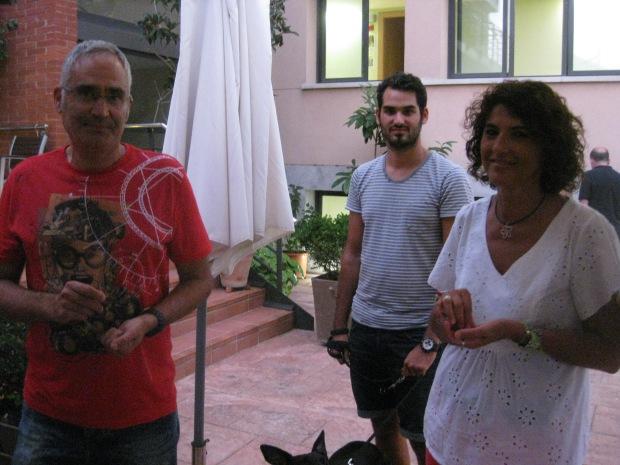 Ignasi y Mercé preparados