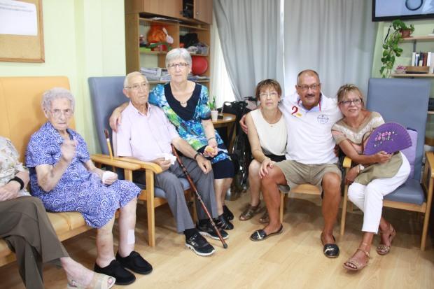 Otra foto con su familia