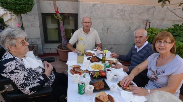La mesa de Joan Fulquet y Dolors Martí