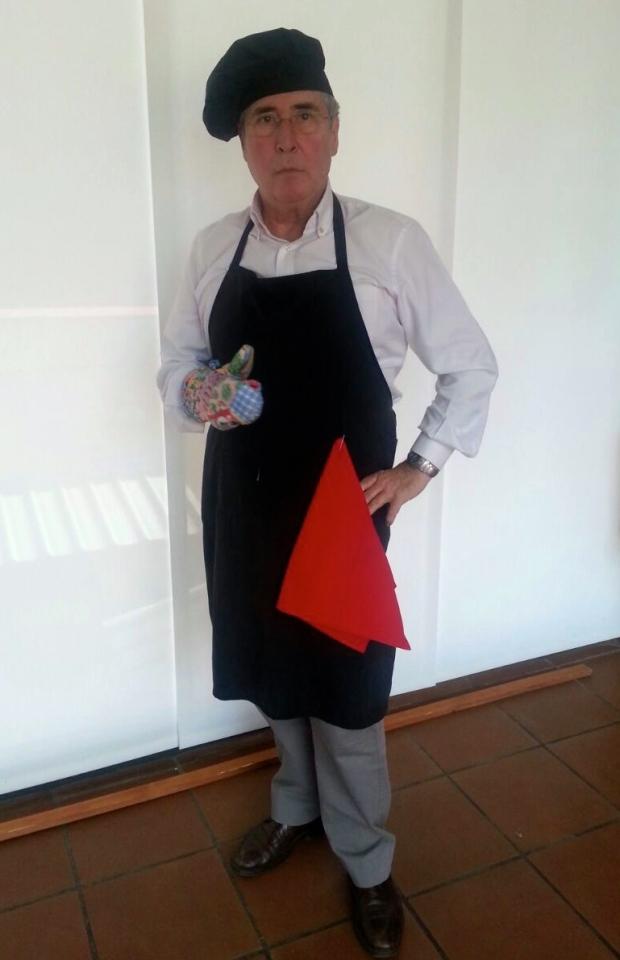 """Antonio como """"Master Chef"""""""