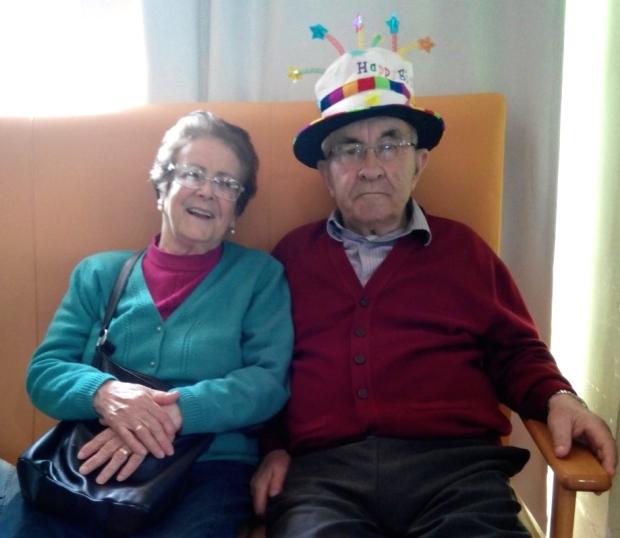 Jacinta, su mujer, siempre con Pepe